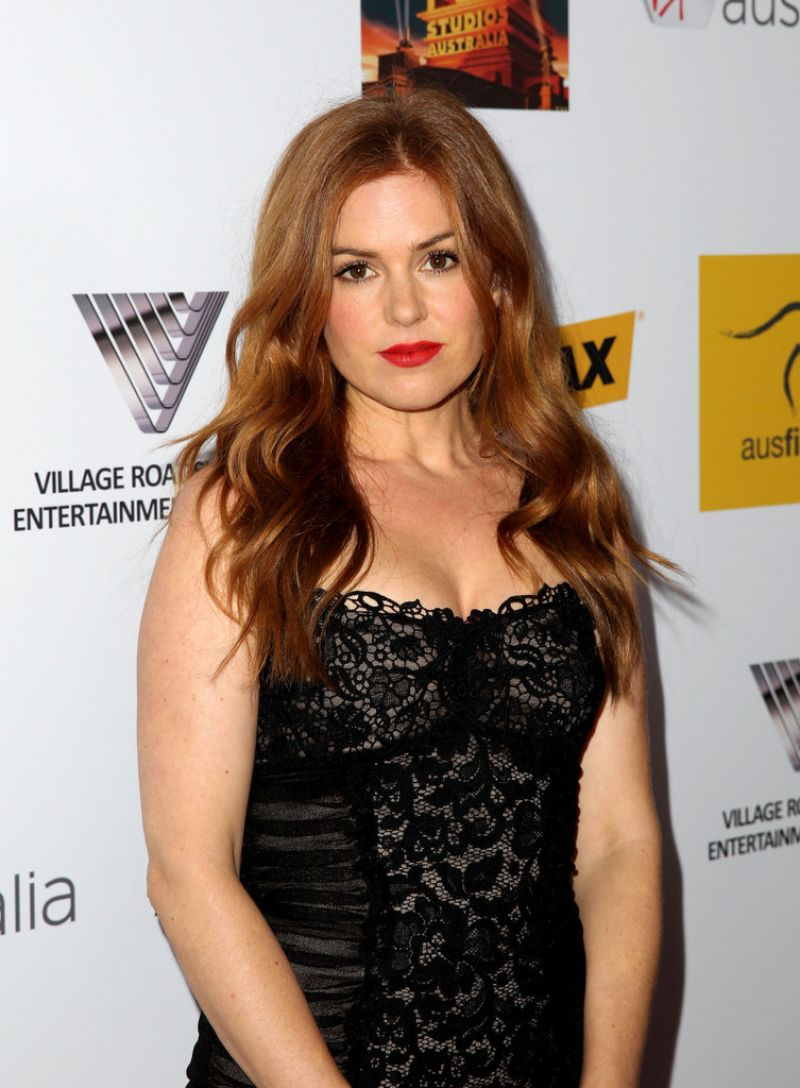 Isla Fisher At 2nd Annual Australians In Film Awards Gala In Beverly Hills