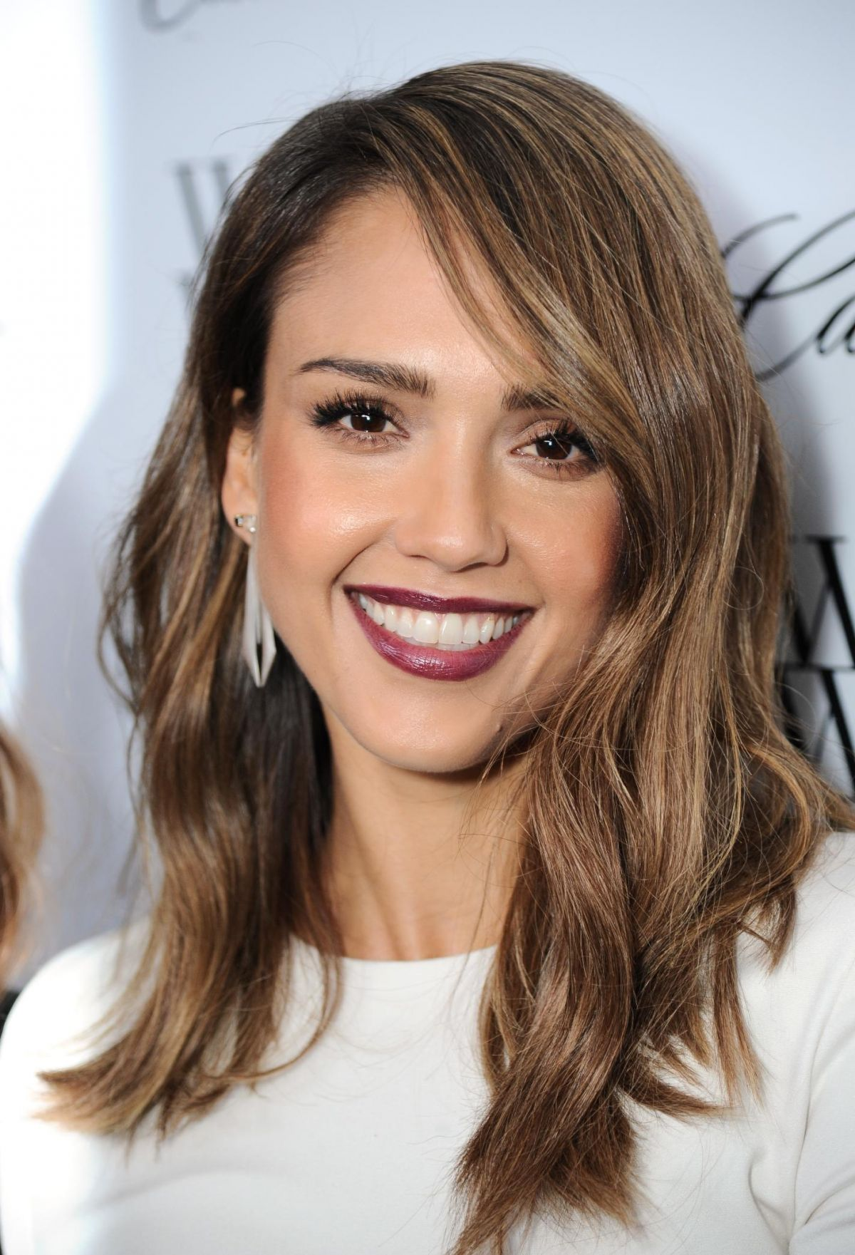 Jessica Alba At 50 Most Fashionable Women Of 2013 Event In West Hollywood