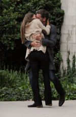 """Jessica Alba On The Set Of """"How to Make Love Like An Englishman"""" In LA"""