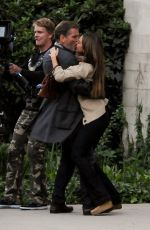 "Jessica Alba On The Set Of ""How to Make Love Like An Englishman"" In LA"