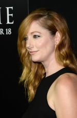 Judy Greer At Premiere Of Carrie At ArcLight Cinemas In Hollywood
