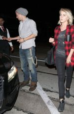 Julianne Hough Out For Dinner In West Hollywood