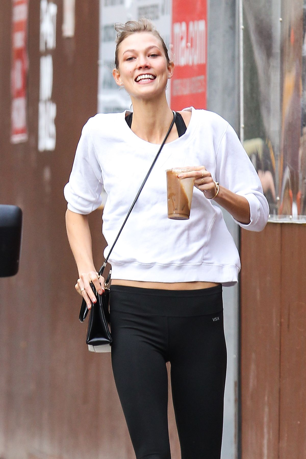 Karlie Kloss Out And About In The East Village