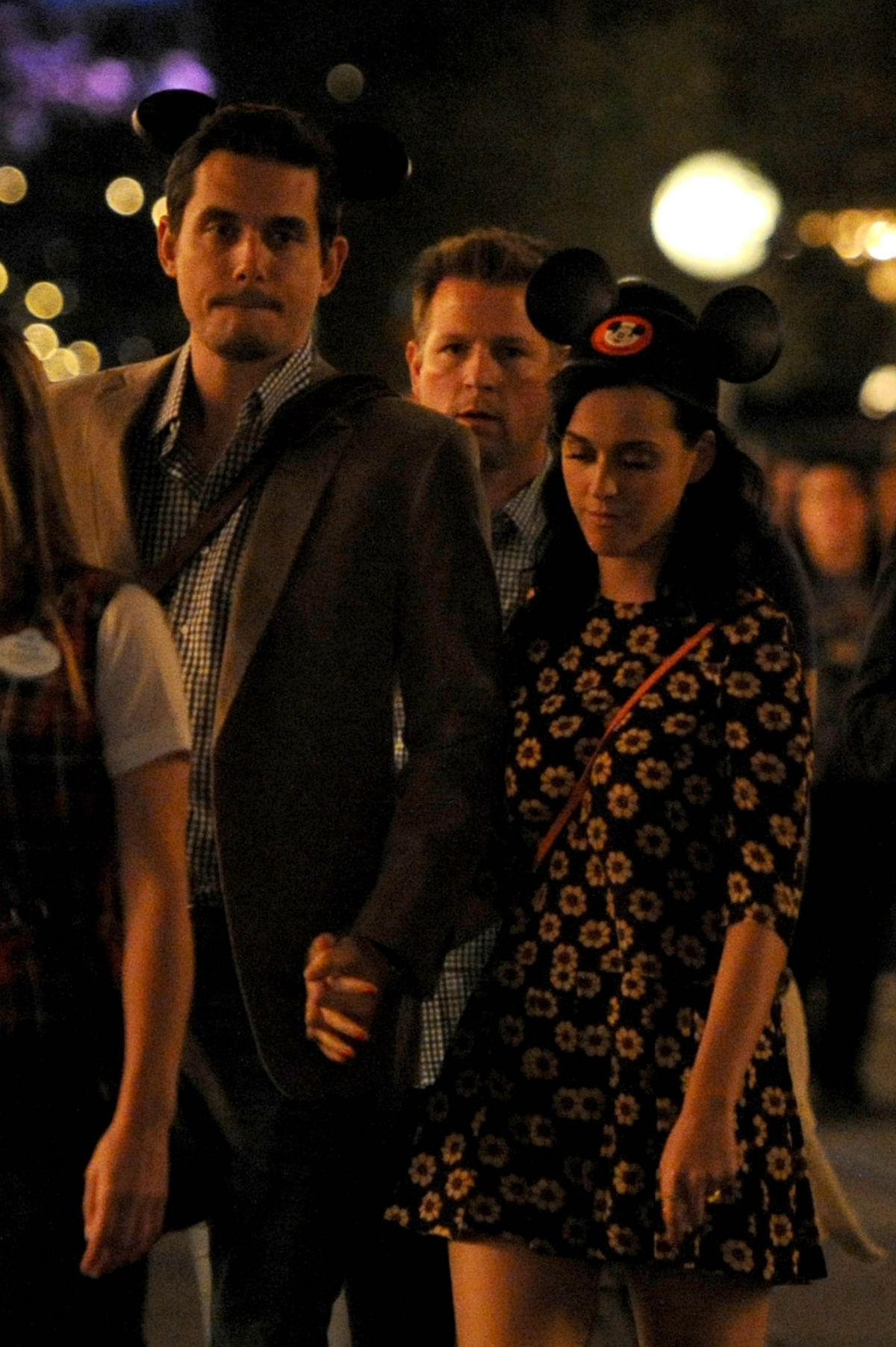 Katy Perry A Night Out In Disneyland In Anahiem