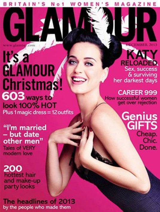 Katy Perry At Glamour UK Magazine December 2013