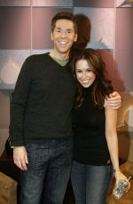 Lacey Chabert At TV Guide Channel Studios