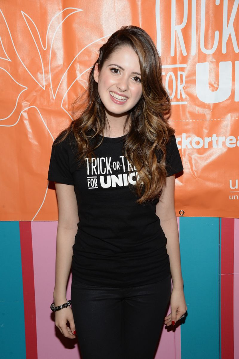 Laura Marano At 63rd Trick-or-Treat For UNICEF Campaign In NYC