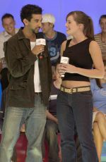 Michelle Ryan At l TRL UK TV Appearance