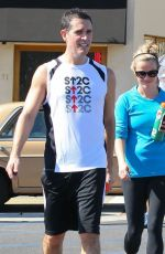 Reese Witherspoon Leaving The Gym In Santa Monica