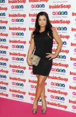 Shona McGarty Inside Soap Awards MOS In London