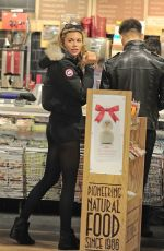 Abigail Clancy Out And About In Kentish Town
