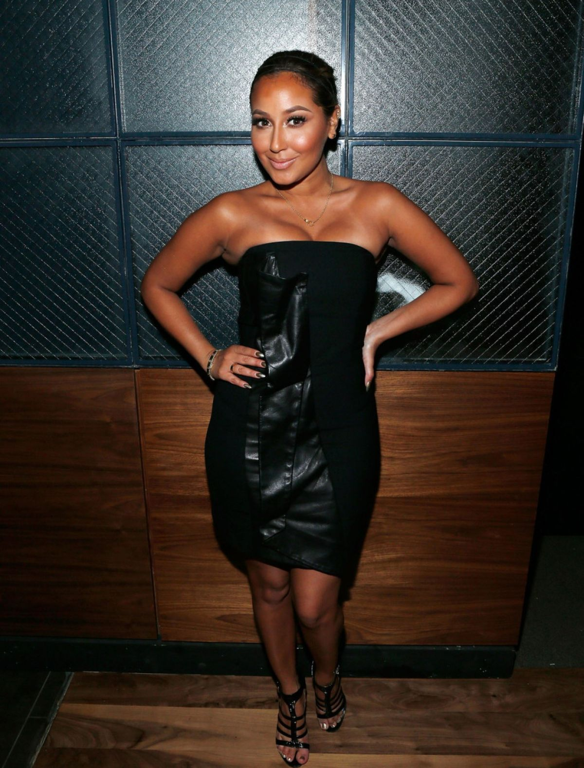 Adrienne Bailon At Tequila Baron Launch Party In NY