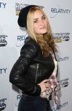 AJ Michalka At House Of Blues In West Hollywood
