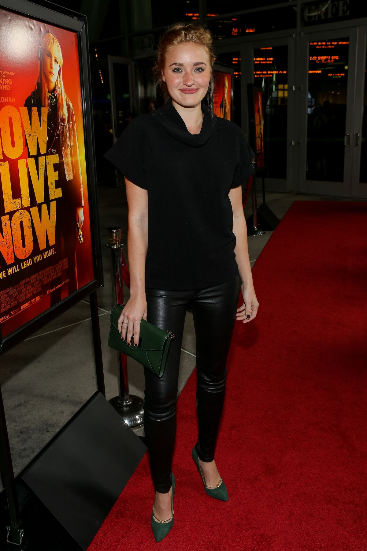 Amanda AJ Michalka At How I Live Now Premiere In Hollywood