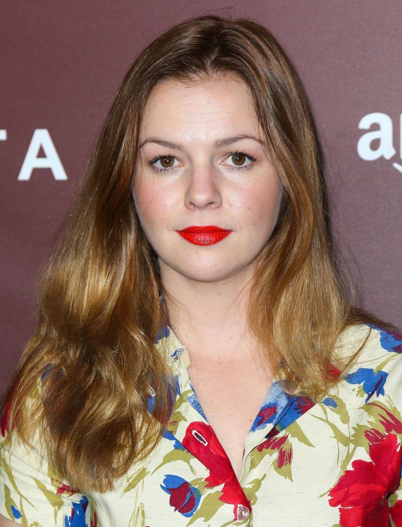 Amber Tamblyn At The Hollywood Reporter