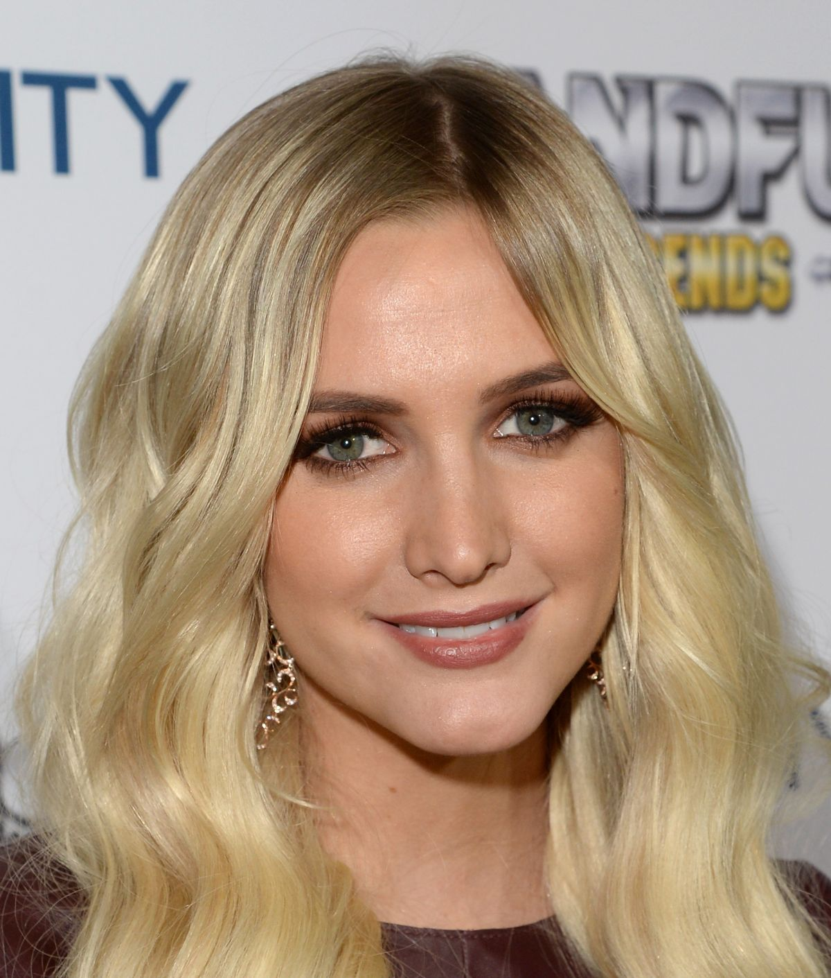 Ashlee Simpson At BandFuse Rock Legends Video Game Launch Event In West Hollywood