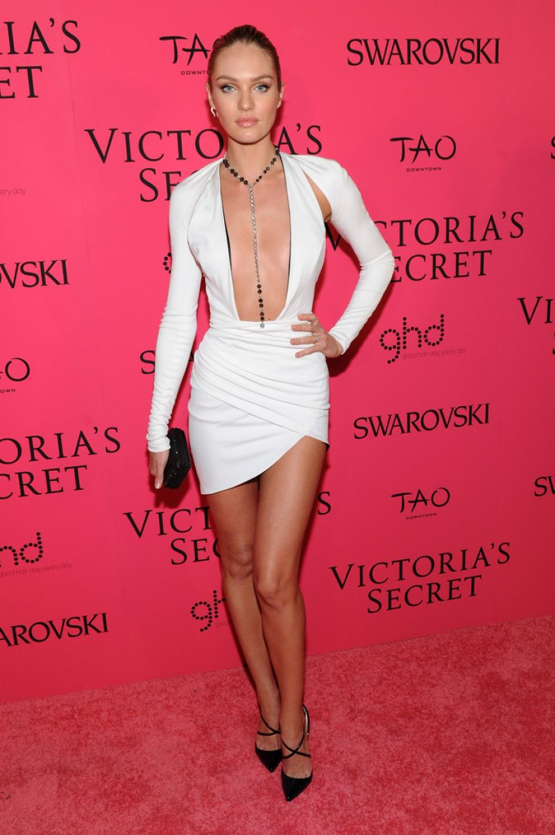 Candice Swanepoel At 2013 Victoria S Secret Fashion After