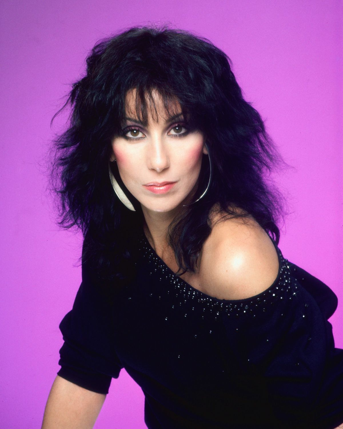 Cher At July 1979 Harry Langdon Photoshoot