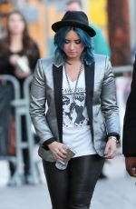 Demi Lovato At Jimmy Kimmel Live In Hollywood