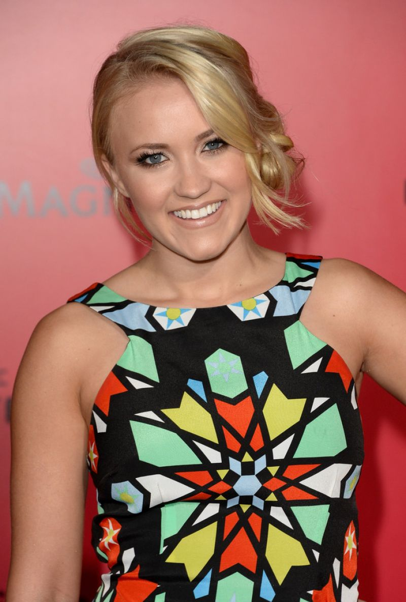 """Emily Osment At """"The Hunger Games: Catching Fire"""" Los Angeles Premiere"""