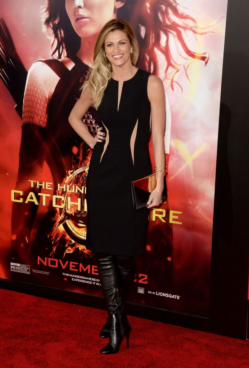 """Erin Andrews At """"The Hunger Games: Catching Fire"""" Los Angeles Premiere"""