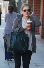 Hilary Duff Visits Her Doctor In Beverly Hills