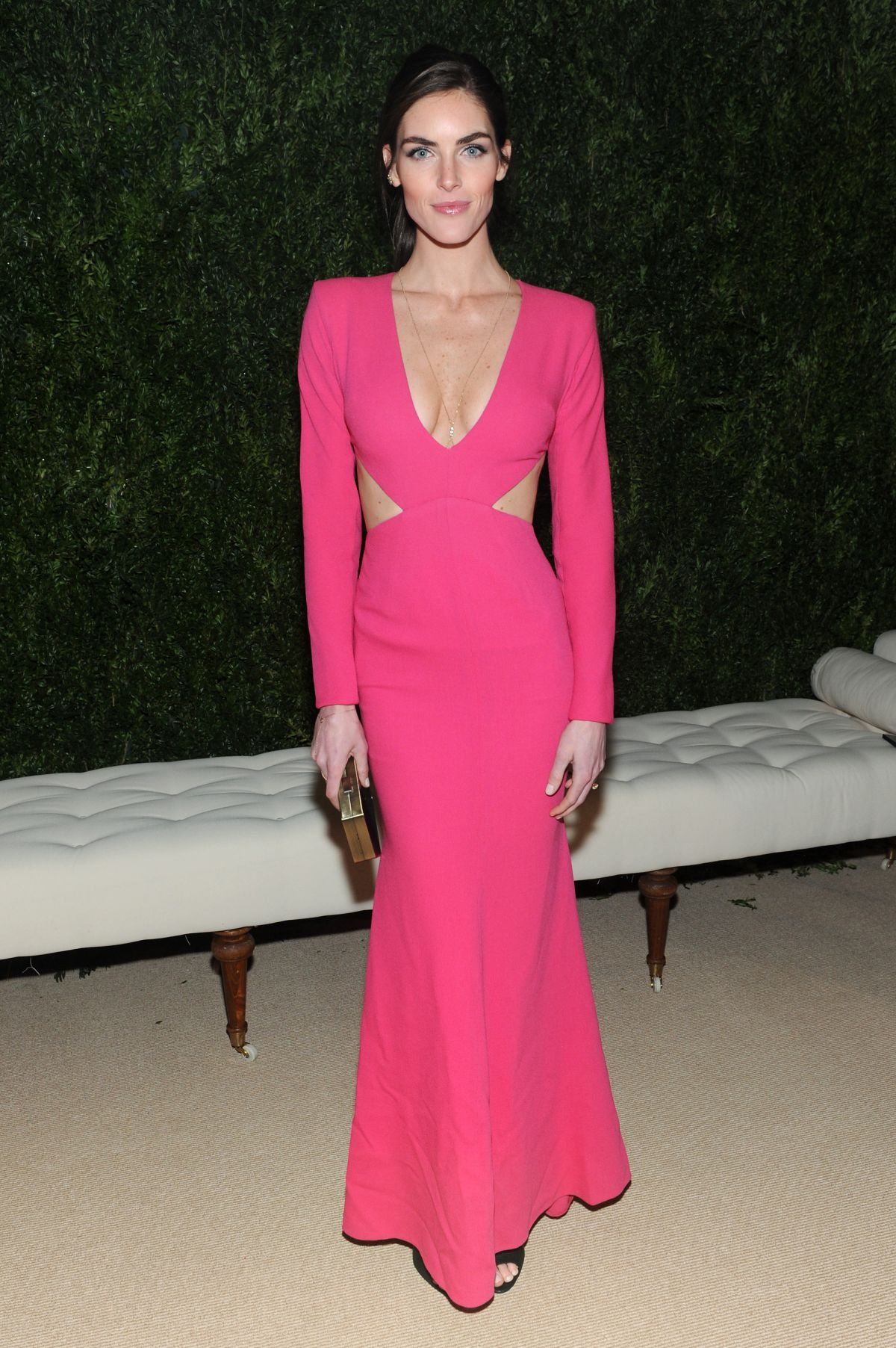 Hilary Rhoda At CFDA And Vogue 2013 Fashion Fund Finalists Celebration In NYC