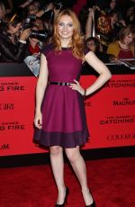 Jacqueline Emerson At The Hunger Games Catching Fire Premiere In LA