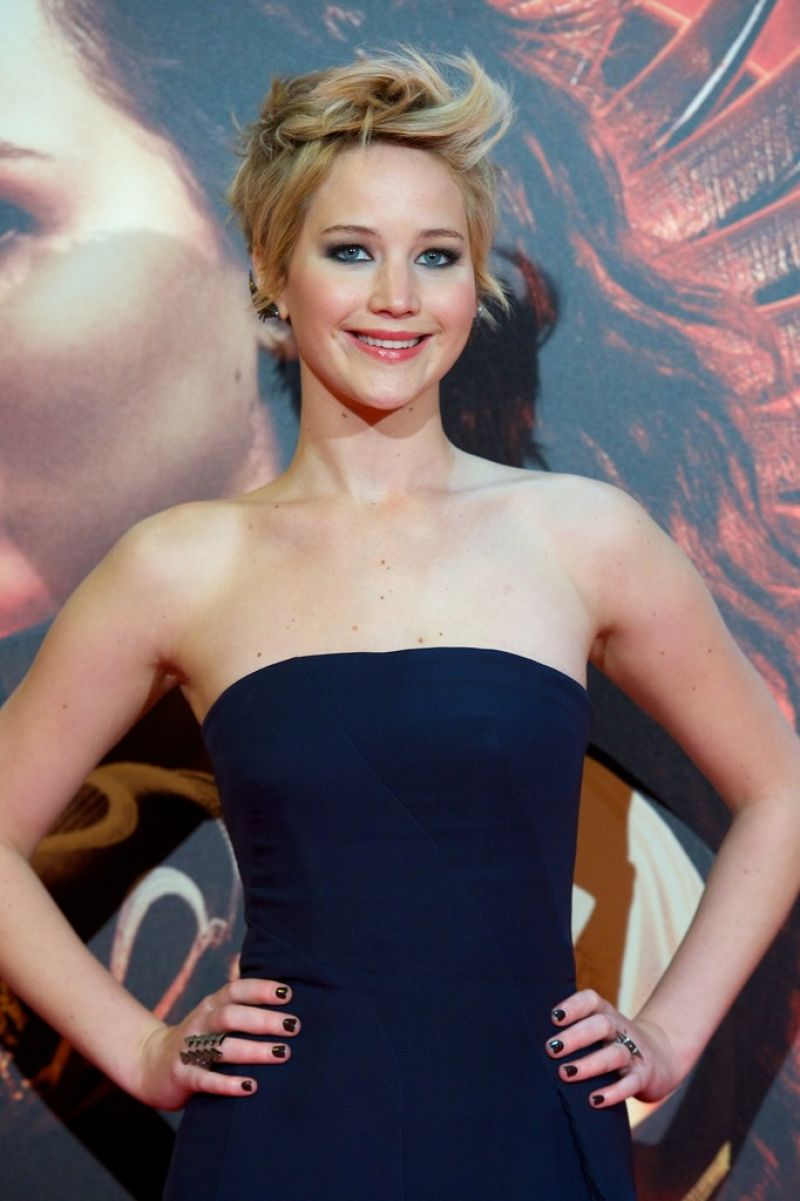 Jennifer Lawrence At 'The Hunger Games: Catching Fire ...