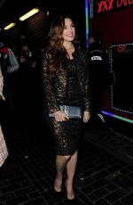 Kelly Brook At The Box Nightclub In London
