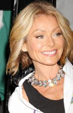 Kelly Ripa Out In Greenwich Village For Halloween