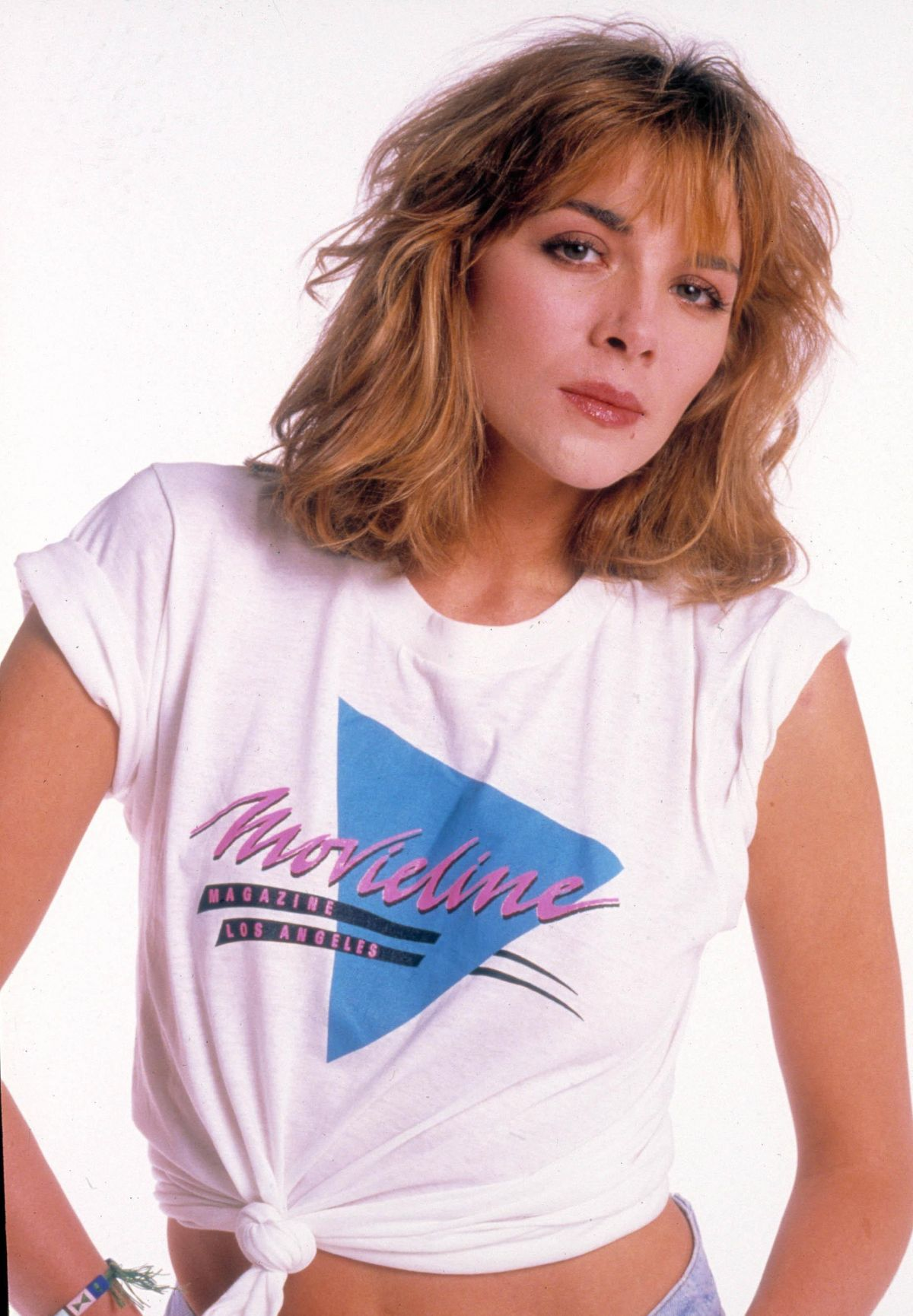Kim Cattrall At 1987 Steve Schapiro Photoshoot