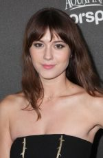Mary Elizabeth Winstead At HFPA & InStyle Celebrates The 2013 Golden Globe Awards Season In West Hollywood