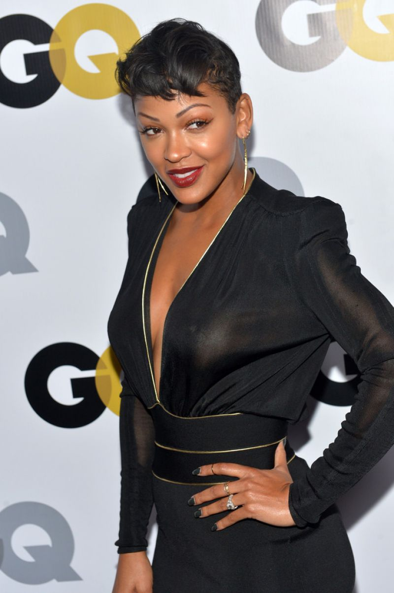 Meagan Good At GQ Men Of The Year Party In LA