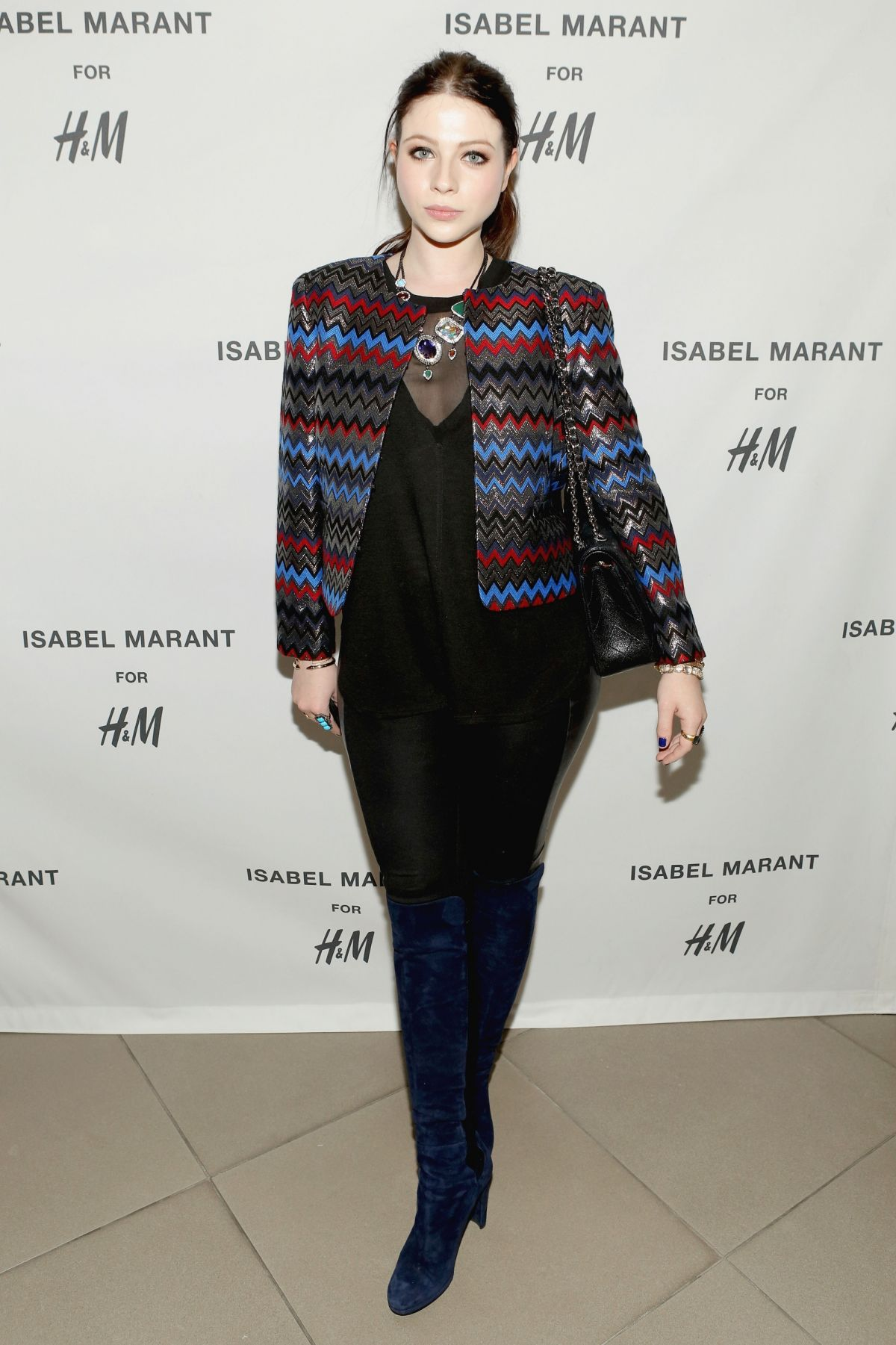 Michelle Trachtenberg At H&M Isabel Marant VIP Pre Shop Event In West Hollywood