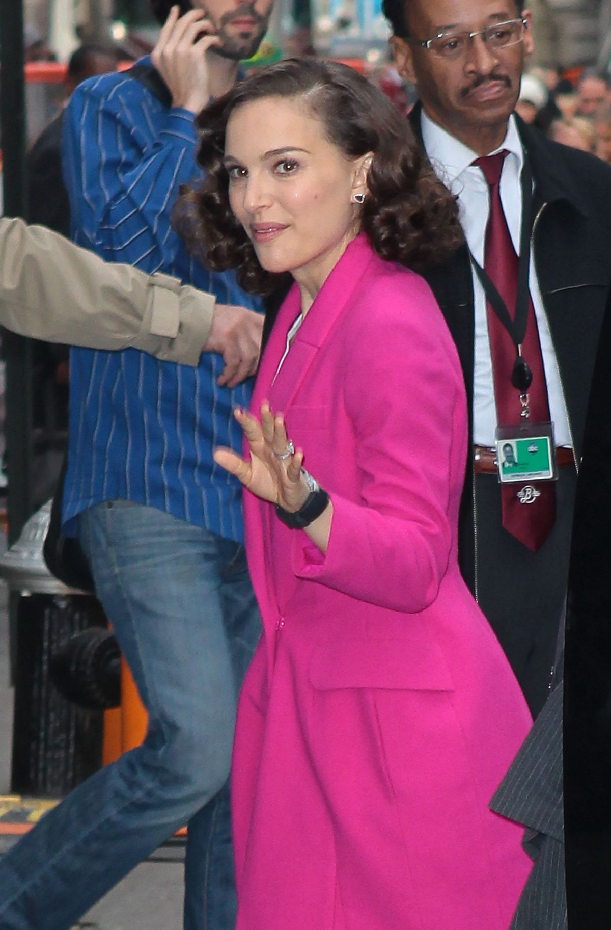 Good Morning America Los Angeles : Natalie portman at good morning america show in new york
