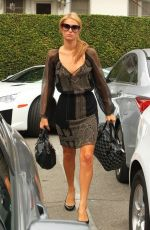 Paris Hilton At The Salon In Beverly Hills