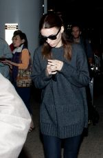 Rooney Mara Seen Arriving At LAX Airport