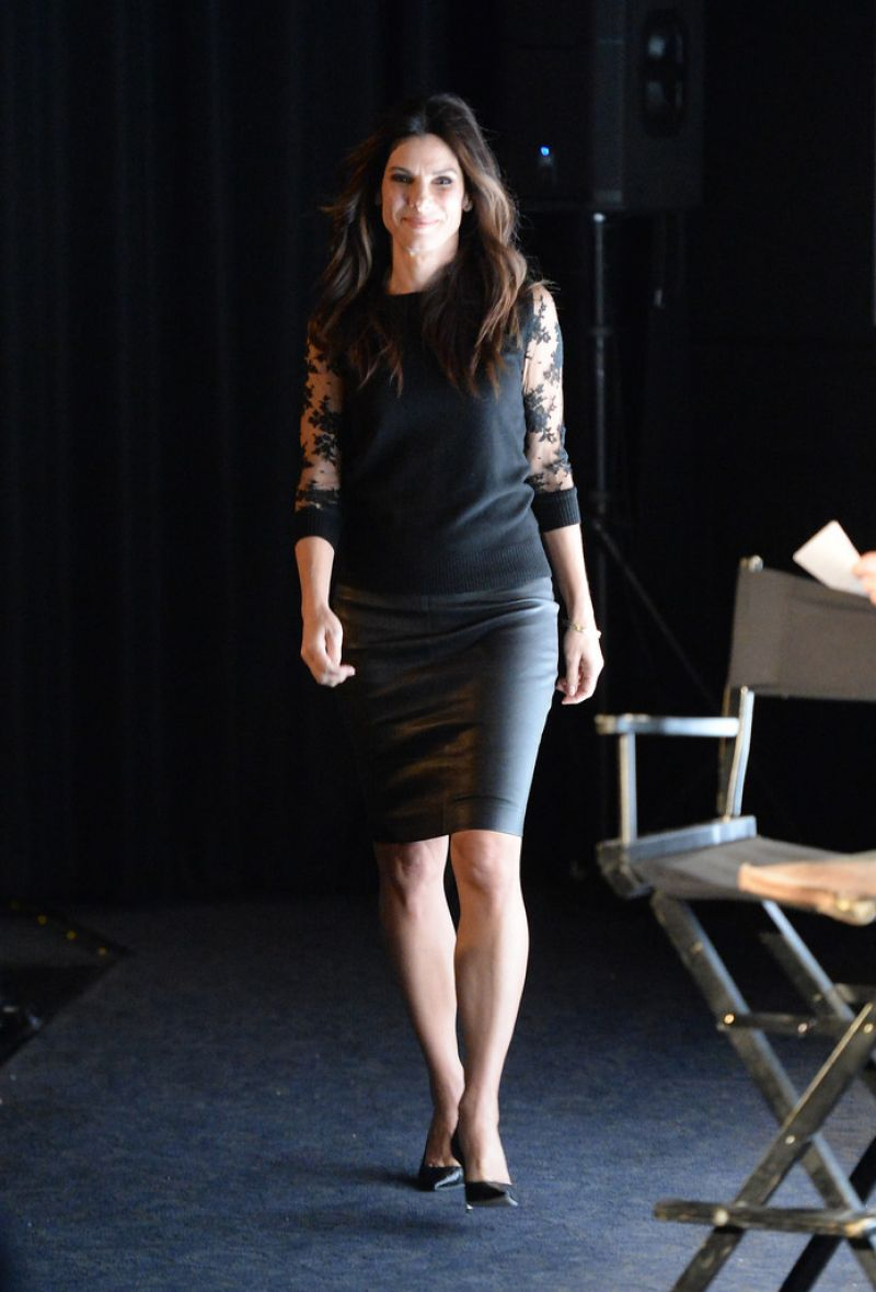 Sandra Bullock At L A Times Envelope Screening Series And