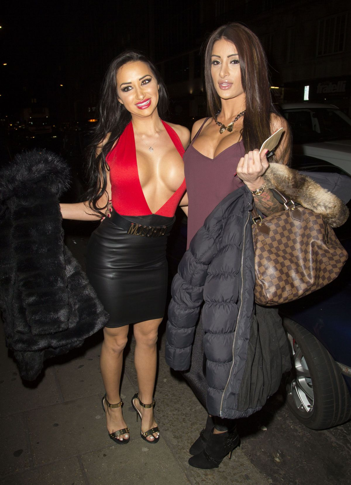 tashie jackson clubbing at novikov in london celebzz