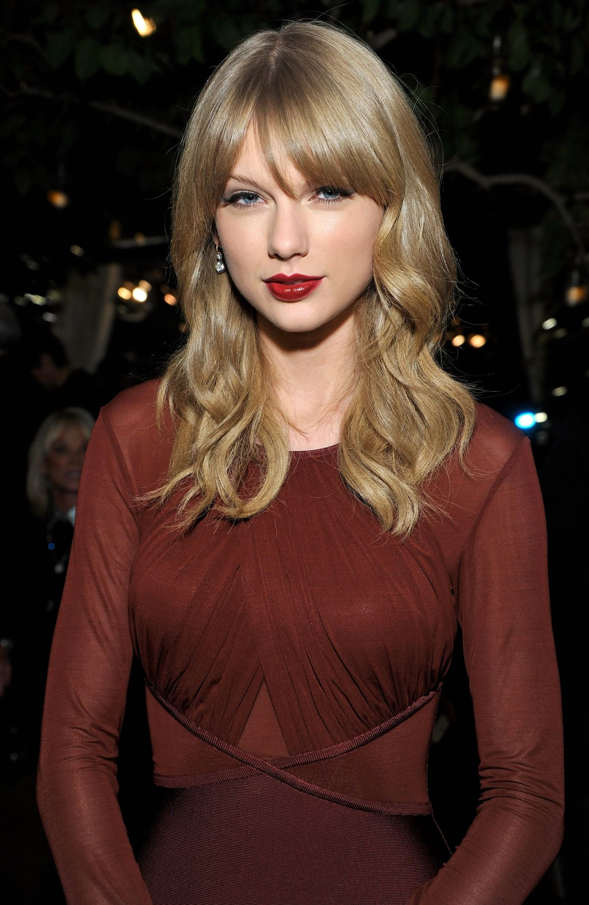 Taylor Swift At Weinstein Company Holiday Party In West Hollywood