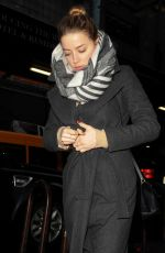 Amber Heard Out In NYC
