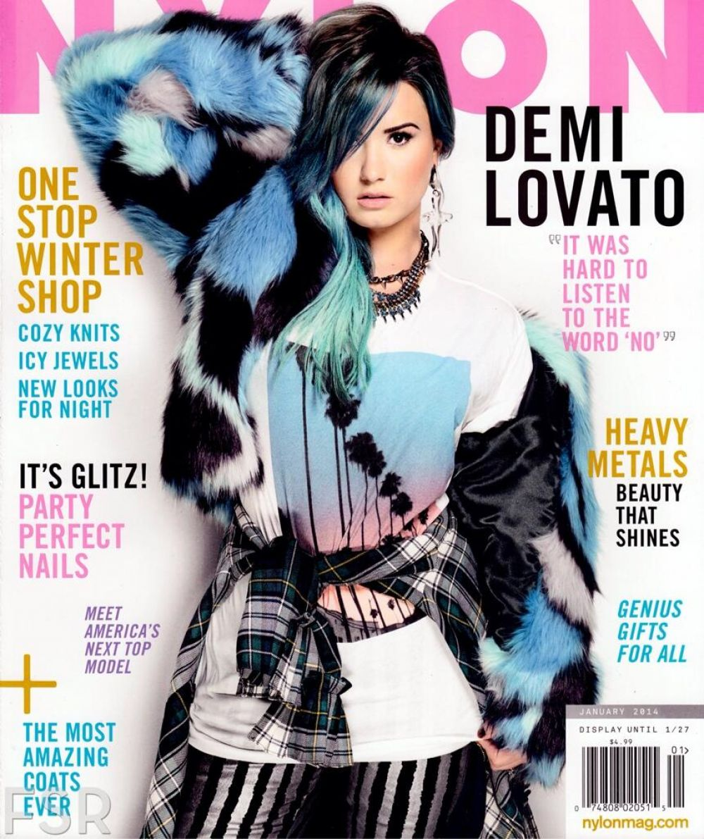 Demi Lovato At Nylon Magazine