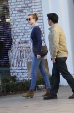 Emily VanCamp At The Grove In West Hollywood