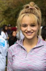 Haley King At Walk For Kids Growth Charity Event In LA