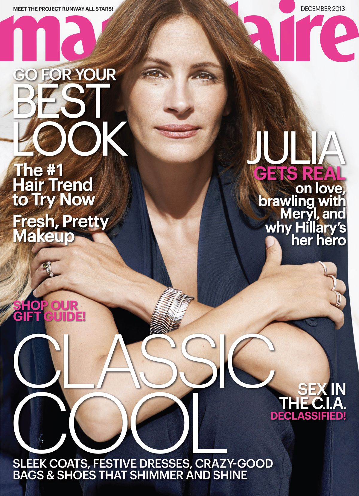 Julia Roberts At Marie Claire Magazine