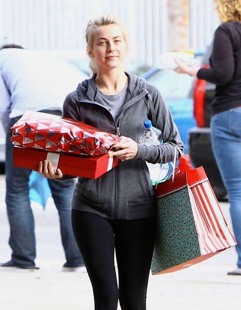Julianne Hough Leaves The Gym In West Hollywood