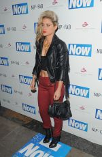 Katie Waissel Attending The Now Magazine Christmas Party In London