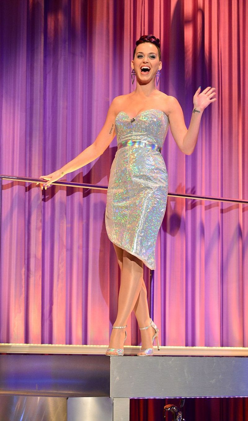 Katy Perry At The Alan Carr Chatty Man Show