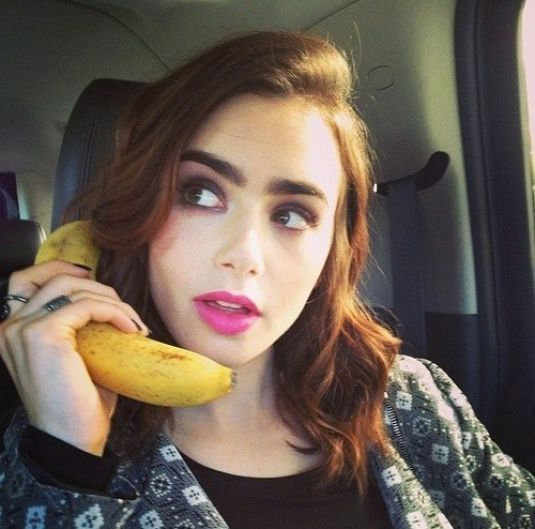 Lily Collins Instagram...